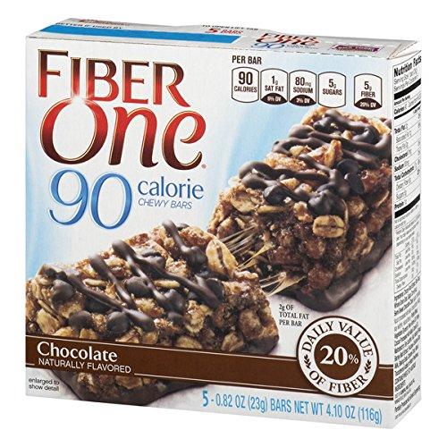 Fiber One 90 Calorie Bar Chocolate 5 - 0.82 oz Bars ()