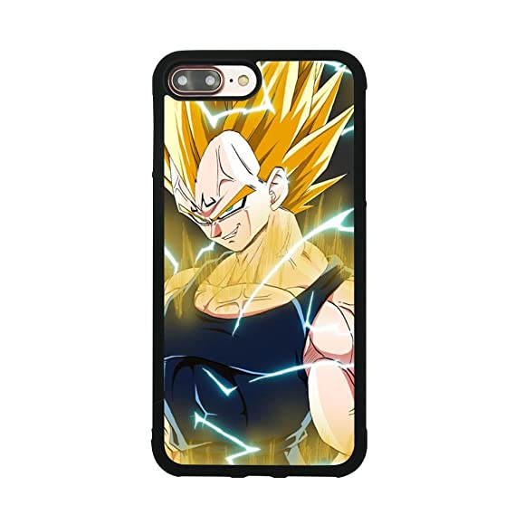Amazon.com: Dragon Ball Vegeta Funda para iPhone 7 Plus/8 ...
