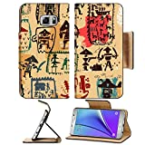 Liili Premium Samsung Galaxy Note 5 Flip Pu Leather Wallet Case The symbolic Note5 IMAGE of pirates Note5 IMAGE ID 25467816 offers