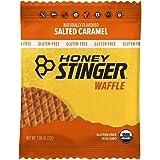Honey Stinger Organic Gluten Free Waffle, Salted Caramel, Sports Nutrition, 1.06 Oz