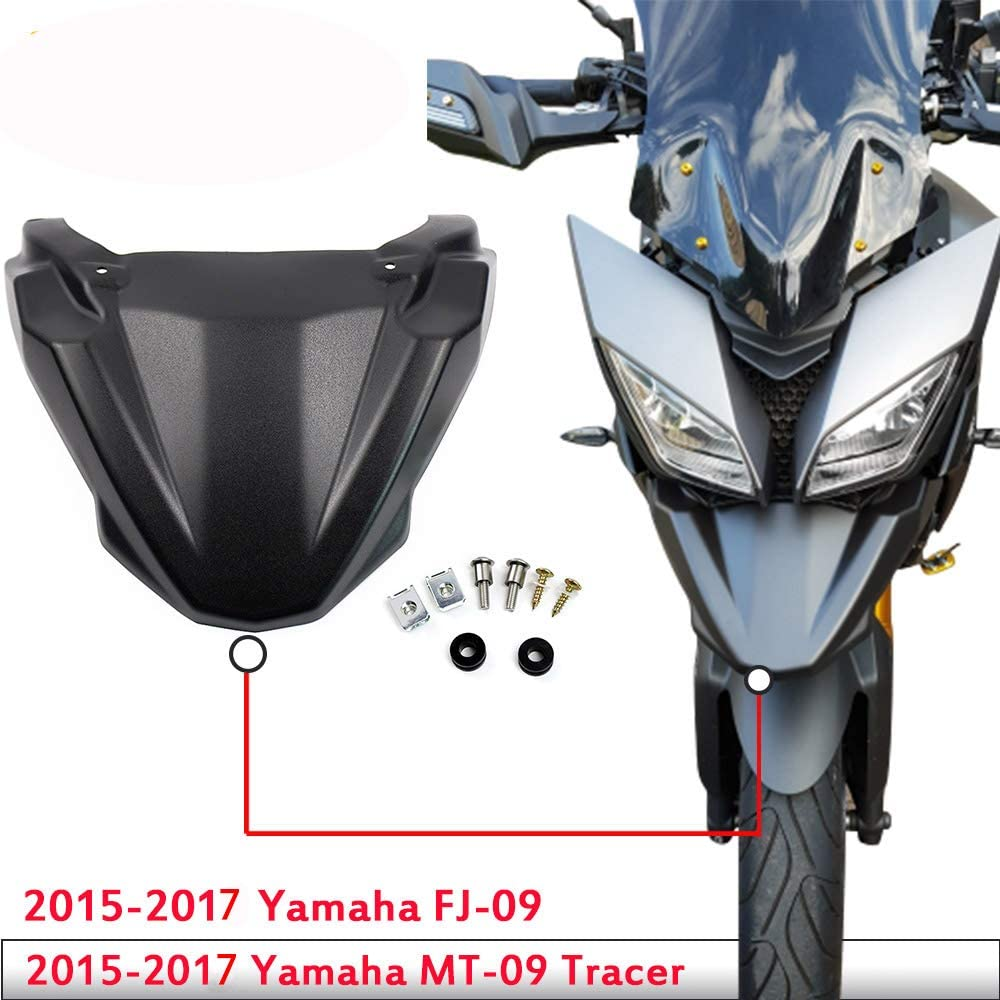 XX E-Commerce Moto Phare support inf/érieur support de fixation Bec dalimentation pour Yamaha MT FJ 09 Tracer 2015 2016 2017 2018