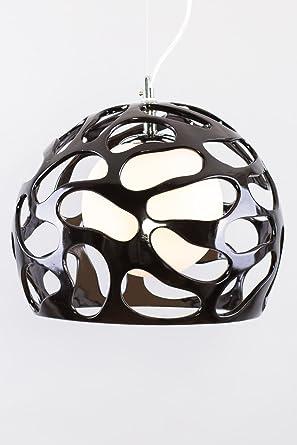 Lámpara de techo colgante en VIVIDOR diseño negro material ...
