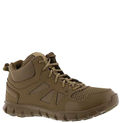 24b0a0cdeff5df Amazon.com  Reebok Men s Sublite Cushion Tactical RB8406 Military   Tactical  Boot  Shoes