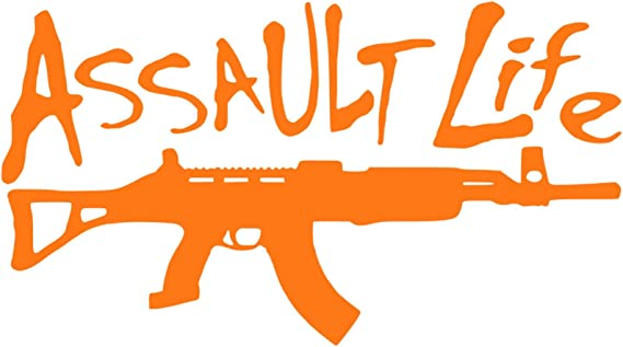 Assault Rifle Life Sticker Decal