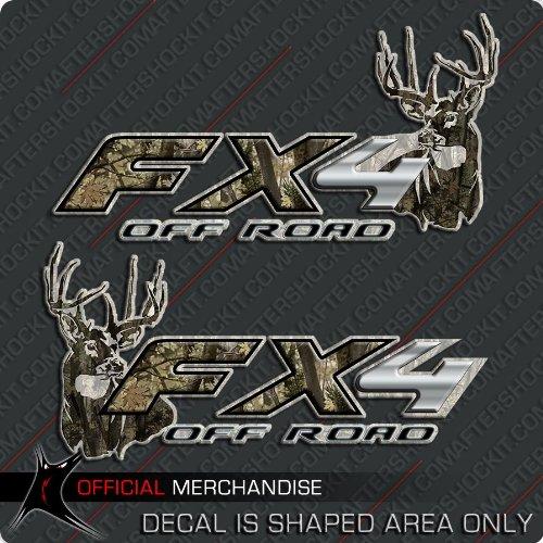 FX4 Truck Deer Hunting Camo Decals Archery Set (Decals Truck Camo)
