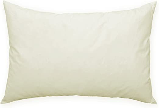 Relleno de cojín de plumas, # 242 (80 x 80), algodón, weiß, 40 x 60: Amazon.es: Hogar