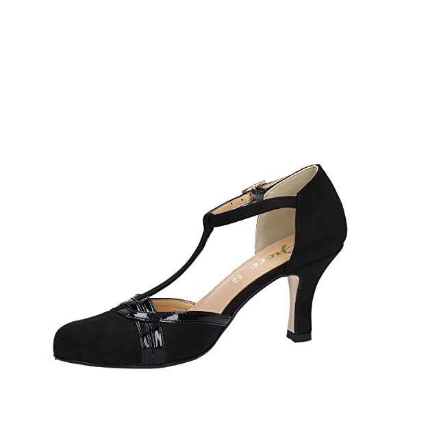 Grace Shoes 9153 Sandalias Altos Mujeres Negro 36 9Xw0N
