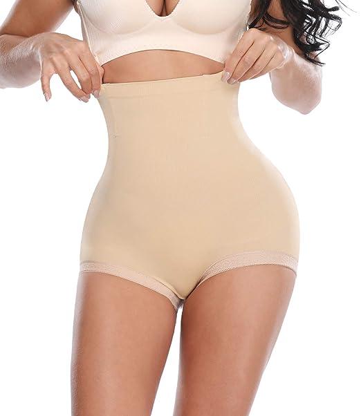a4c3b8265c2 SEXYWG Women Waist Trainer Hi-Waist Shapewear Tummy Control Knickers  Panties Slim Cincher  Amazon.co.uk  Clothing