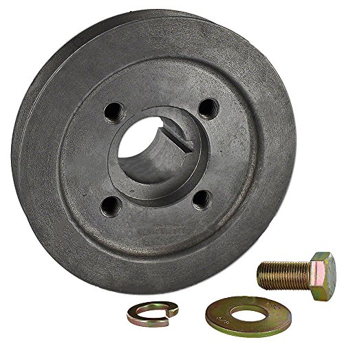 Front Pulley Shaft - 1750301M1 New Massey Ferguson Tractor Front Crankshaft Pulley TE20 TO20 TO30