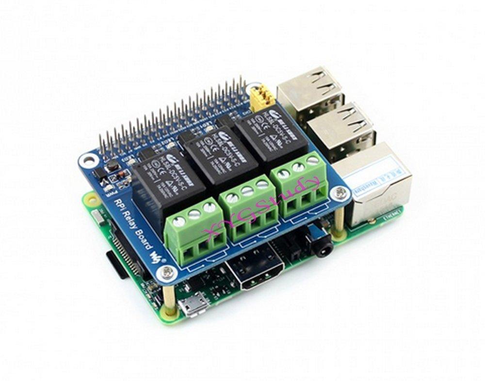 NEW Raspberry Pi Expansion Board Power Relay Module for Raspberry Pi 3 2 Model B B+ @XYGStudy by XYG-Raspberry Pi (Image #2)