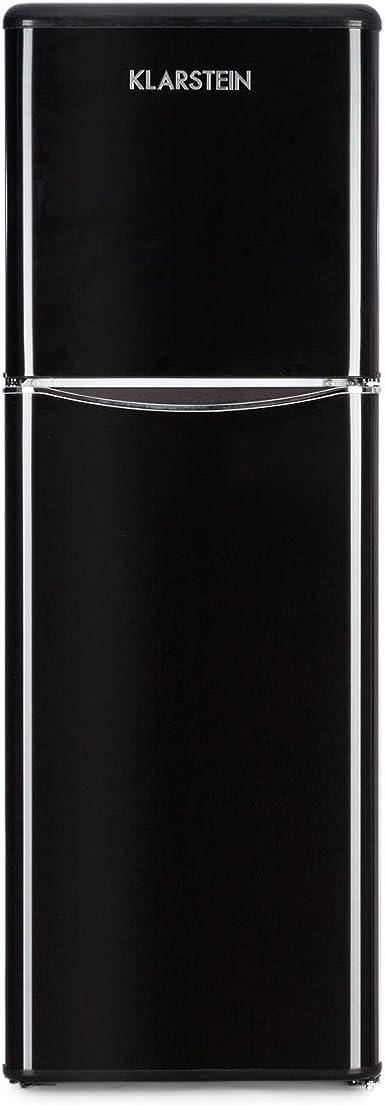 KLARSTEIN Monroe XL Black - Nevera, Congelador, Frigorífico ...