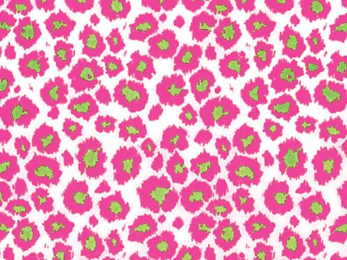Wild Cat Pink Tissue Paper 240~20''x30'' Sheets Tissue Prints (240 Sheets) - WRAPS-P1203 by Miller Supply Inc