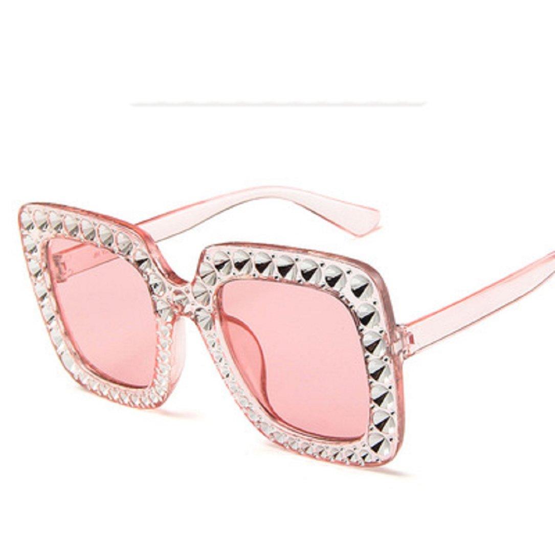 Amazon.com: YABINA - Gafas de sol clásicas con orejas de ...