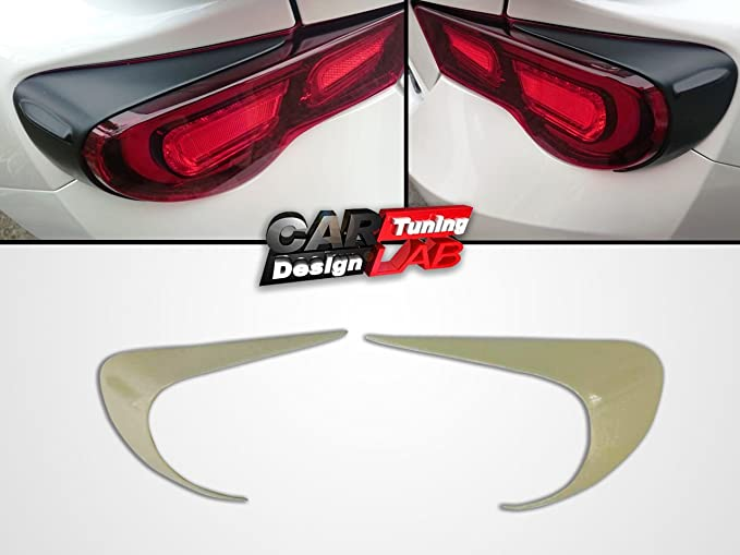 Carbon Tail lights Eyelids Eyebrow Cover BRZ