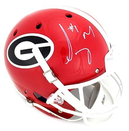 8e34d23ec Sony Michel Signed Georgia Bulldogs Schutt Full Size NCAA Helmet - Autographed  College Helmets