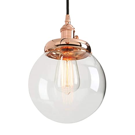 Phansthy Vintage Industrial Pendant Light Retro Warehouse Light ...