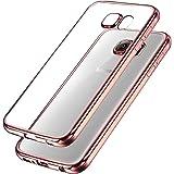 UBEGOOD Funda Samsung Galaxy S7 Galaxy S7 TPU Funda Protectora Carcasa Anti Drop Gel de Silicona Cover Case para Samsung Galaxy S7, Rosa