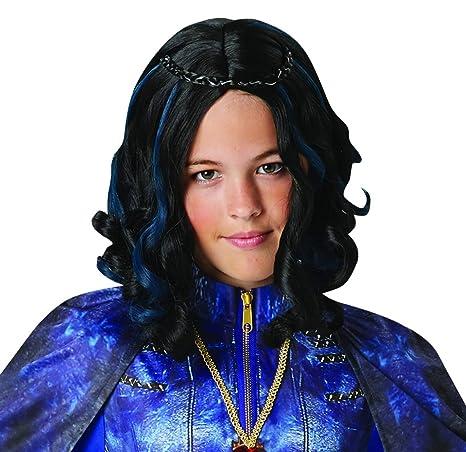 Fancy Ole - Accesorios de Disfraz para niños, Peluca de evie, Carnaval, Carnaval