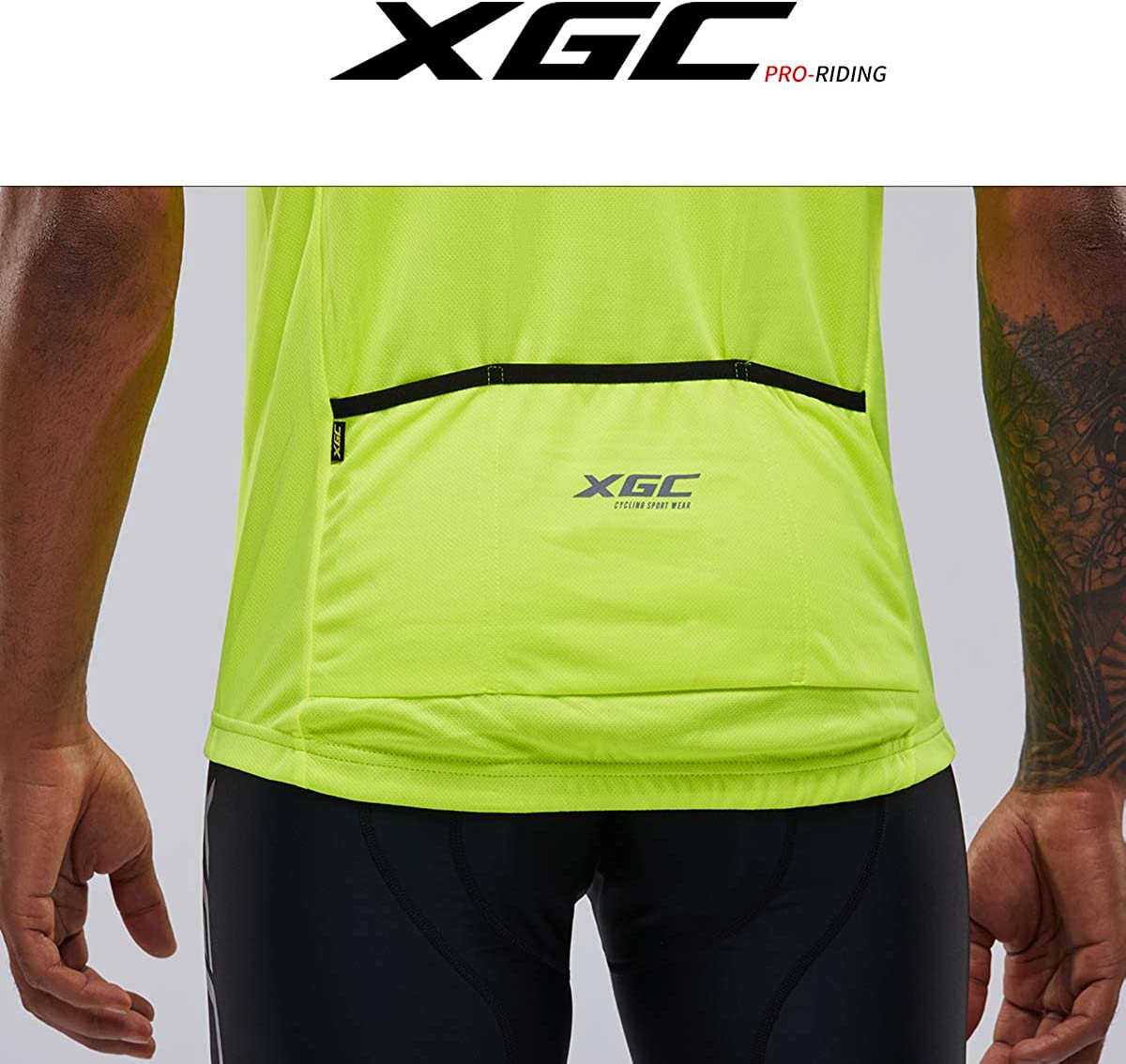 Mens Short//Long Sleeve Cycling Jersey Bike Jerseys Cycle Biking Shirt with Quick Dry Breathable Fabric