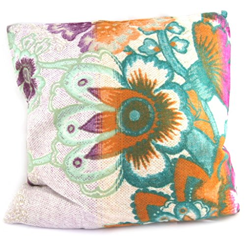 Creator cushion 'Desigual'beige multicolor (40x40 cm (0.00''x15.75'') ). ($0.00 Furniture)
