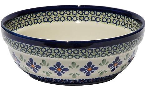 Polish Pottery Large Serving Platter Zaklady Ceramiczne Boleslawiec 1007-du121 Unikat