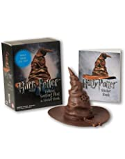 Harry Potter Talking Sorting Hat And Sticker Book. (Miniature Editions)