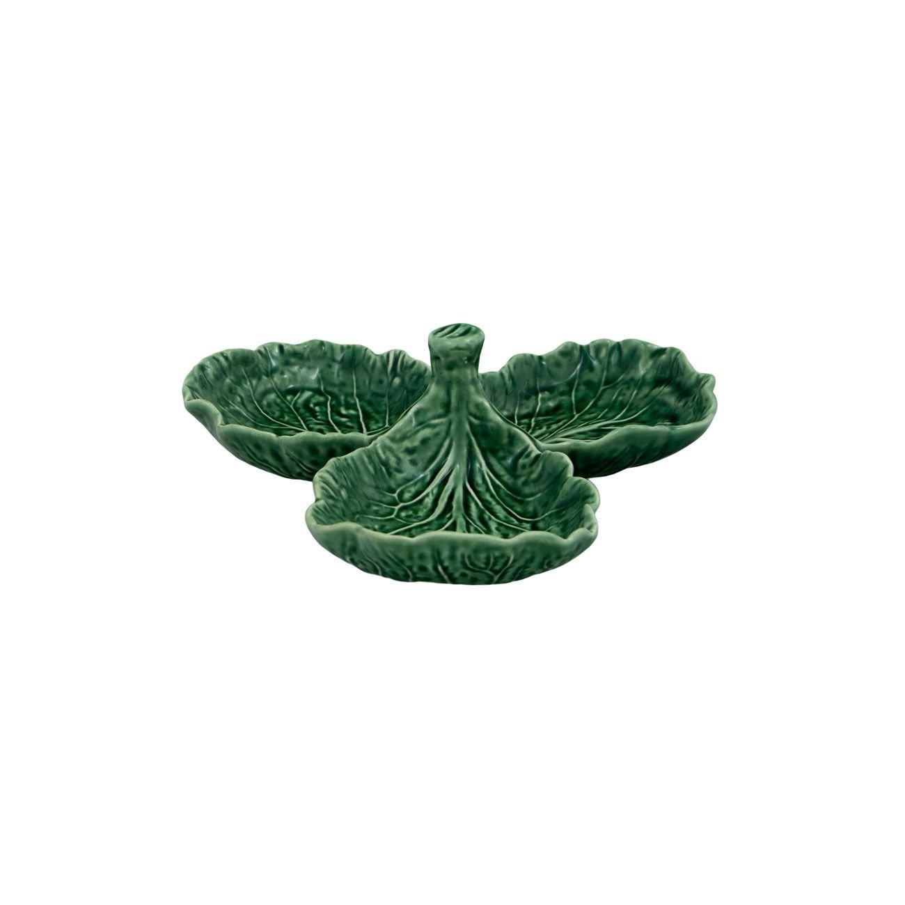 Bordallo Pinheiro Cabbage Green Olive Dish LEPAC5619