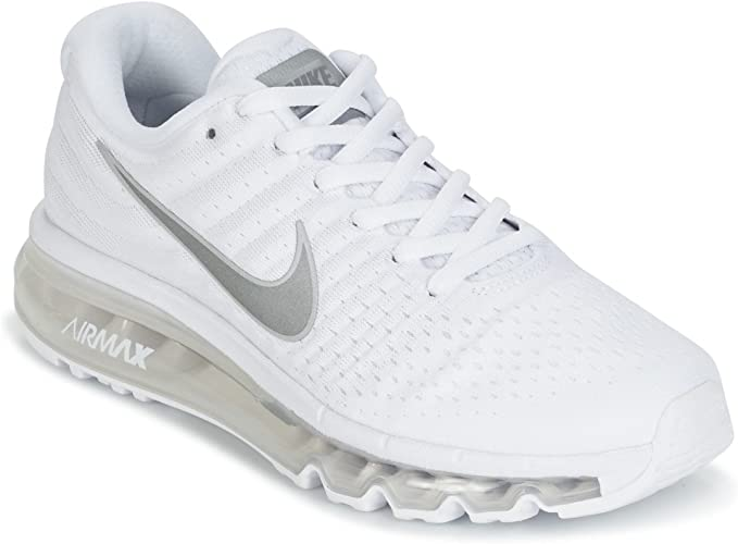 Nike Air Max 2017 GS 851622 100, Sneakers Basses Mixte Enfant