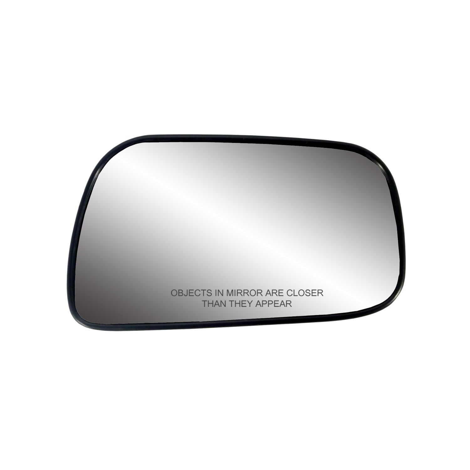 Fit System 30126 Toyota Camry Sedan Right Side Heated Power Replacement Mirror Glass with Backing Plate