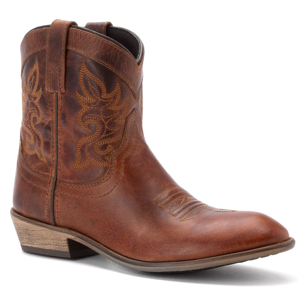 Dingo Women's Willie Western Boot B00GGS3ZNE 10 B(M) US|Brown