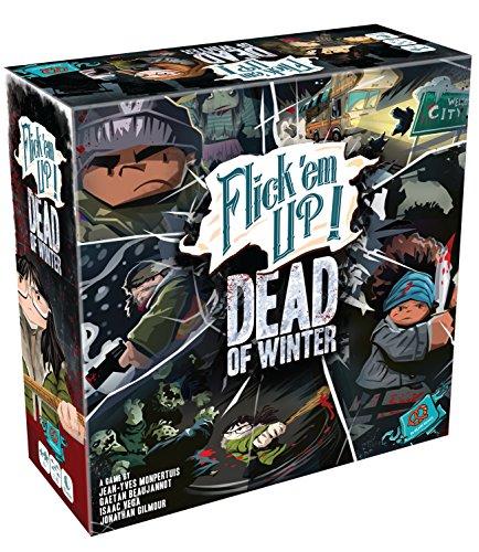 Plan B Games 30030PZG Flick em Up Dead of Winter Game ()