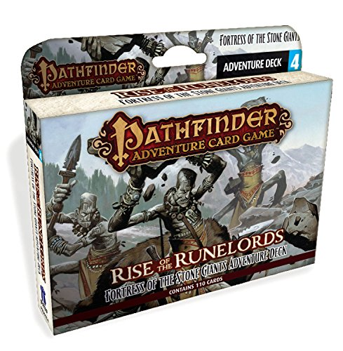Pathfinder Adventure Card Game: Rise of The Runelords Deck 4 - Fortress of The Stone Giants Adventur (Giants Pathfinder Stone)