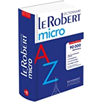 Le Robert micro: Dictionnaire d'apprentissage du français (Le Robert Dictionnaires)