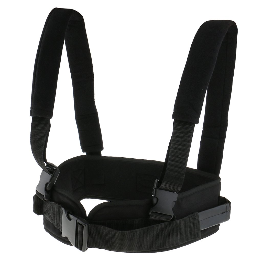 MagiDeal Safety Secure Transfer and Walking Gait Belt with Caregiver Hand Grips Patient Ambulation Medication Assist Aid