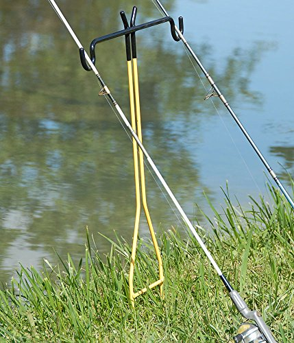 Rite hite dual fishing rod holder holds two fishing rods for Amazon fishing rod holders