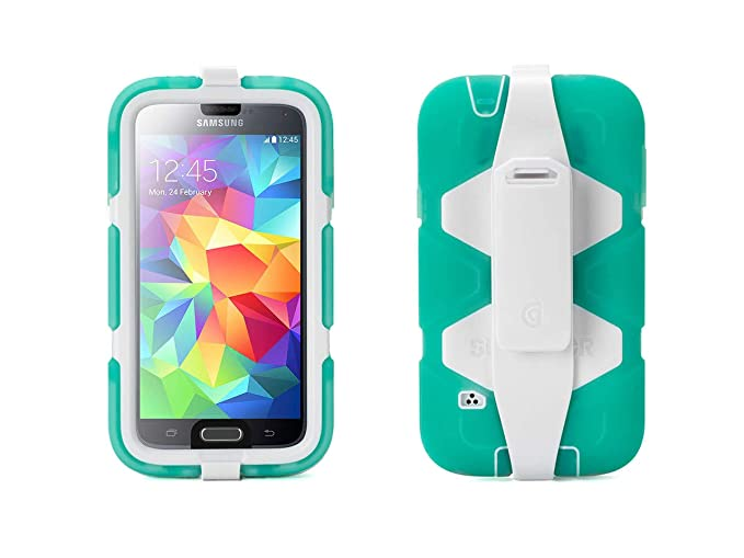 90ccd78d5a4 Amazon.com  Griffin Survivor All-Terrain Galaxy S5 Case with Belt ...