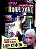 Chris Candido Hardcore Action Figure Featurng Right Arm Smash with Limited Edition Collectors Tattoos - 2000 ECW Extreme Championship Wrestling Thrill Zone Series