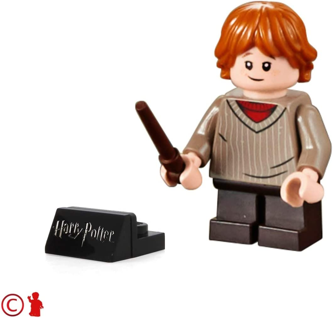 Lego HARRY POTTER NEW DARK TAN WAND FROM THE 2018 SETS,2 Wands