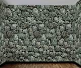 Medieval Stone Wall Roll Backdrop Haunted House Halloween Decoration
