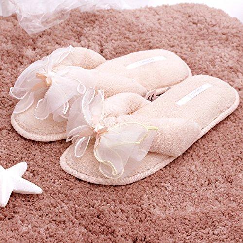 Ciabatte Infradito Bubble Bolla Spa | Pantofole Infradito Da Donna In Pile Felpa | Zoccolo Morbido Per Le Donne | Pantofole Antiscivolo Suola Rosa