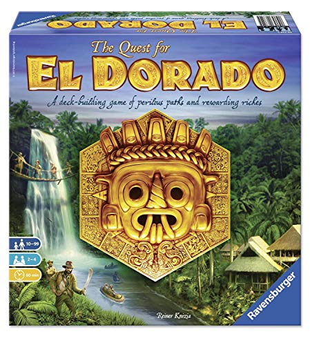 (Ravensburger The Quest for El Dorado Family Game)