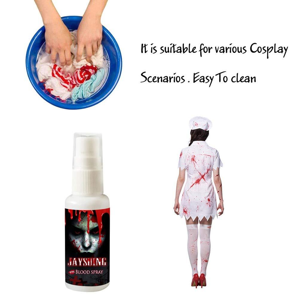 WEISY Kunstblut Spr/ühflasche Scary Horror Kost/üm Party Kost/üm Halloween Fun Zubeh/ör
