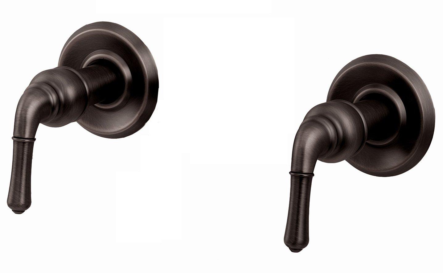 Amazon.com: Trim Kit for 2-handle Shower Valve, Fit Delta Washerless ...