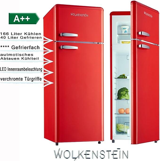 Frigorífico combi con congelador estilo retro GK212.4RT, color ...