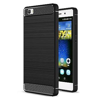 Carcasa Huawei P8 Lite Case Cover, yoowei silicona Gel funda ...