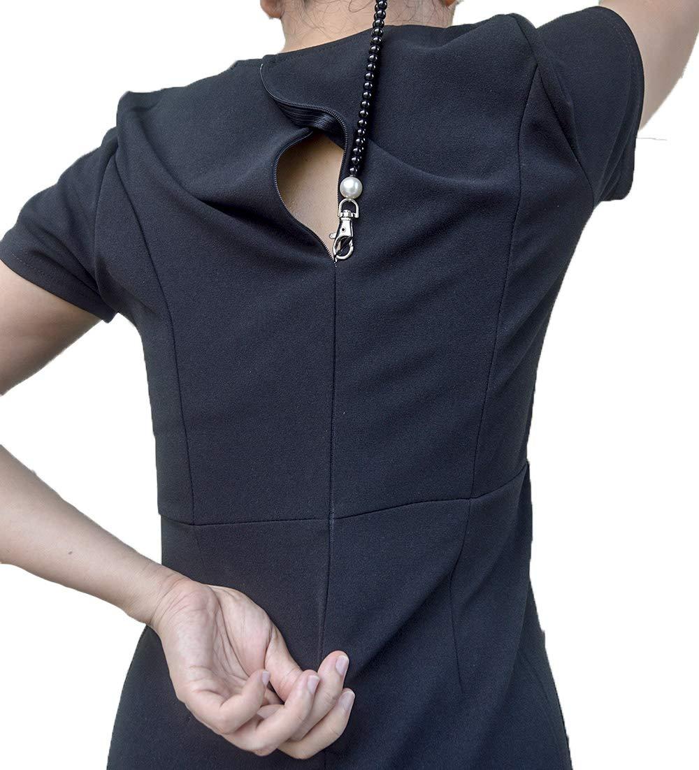 Zipper Hook Puller Zip Up /& Down Dress Yourself Zip Help Zipper Helper Boots Zip Aid Assistant Tool Fits Virtually All Zipper Types
