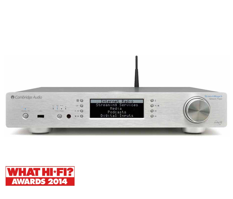 Cambridge Audio Stream Magic 6 V2 SLV [Silver]   B00KID848Y
