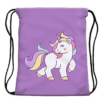 Amazon.com: stylesilove My Unicorn World Graphic Gimnasio de ...