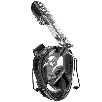 Snorkel Máscara De Buceo Máscara, Máscara con Gasbag para Snorkel 180 ° Vista Panorámica Sistema