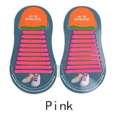 UR Center - Cordones de silicona para zapatillas de correr sin ...